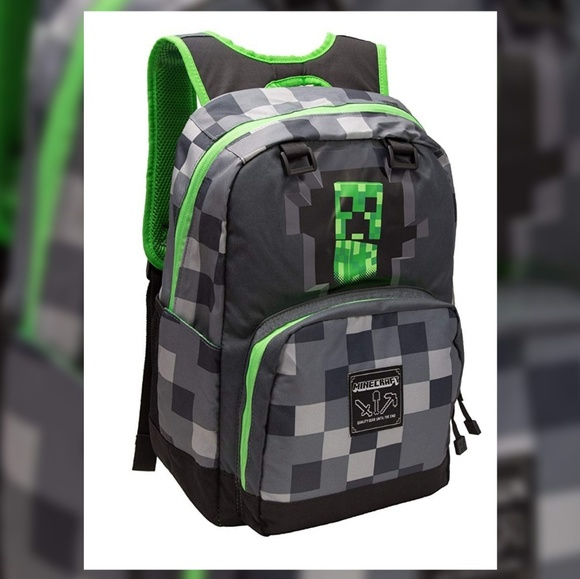 add980ee1b Minecraft Creeper paddle backpack